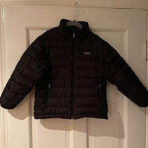 Patagonia boys down sweater size S (5/6) black